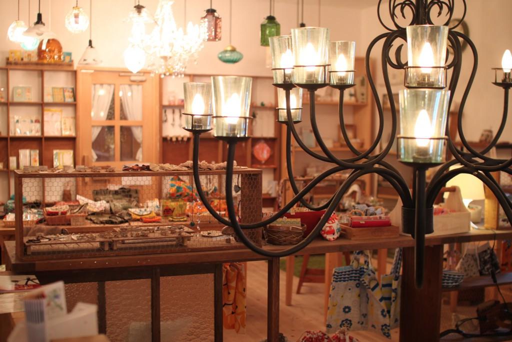 tsumiki食堂の2階のかわいい雑貨屋さん「コトノハ雑貨店」