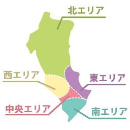茨木市地区分け