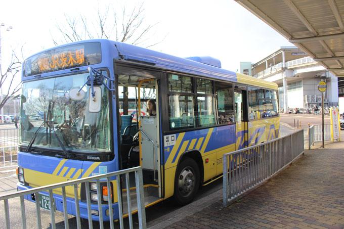 JR茨木駅からエキスポシティへバスでのアクセス!どんな感じ?