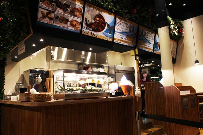 子供と一緒にオービィ大阪のプレオープンへ行ってきました!その4(カフェ編)