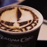「ガンダム スクエア」のカフェでガンダムの世界へ!