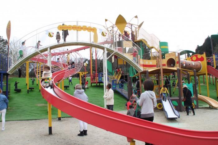 再び、大型遊具のある「萩谷総合公園」へ行ってきました!(高槻市)