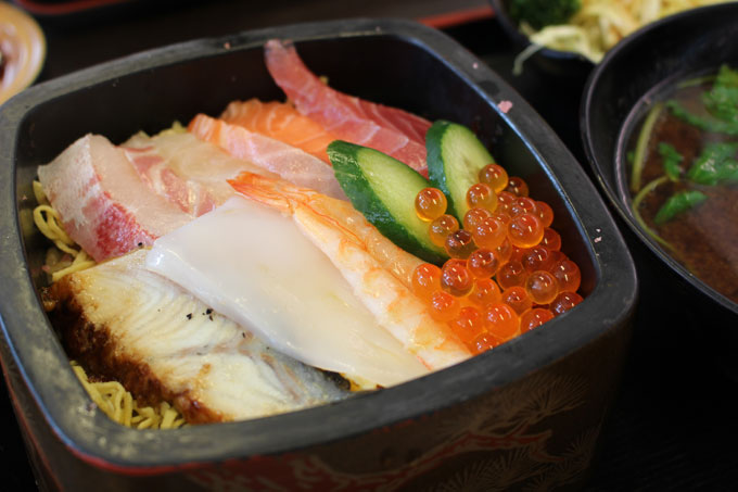 お寿司食べたい!平日ランチがお得な「喜楽」deランチ!
