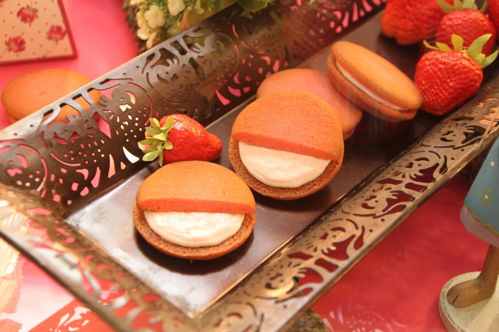 小野原にある「Mille-Feuille~お菓子工房ミルフィーユ オゥション」の苺スイーツたち
