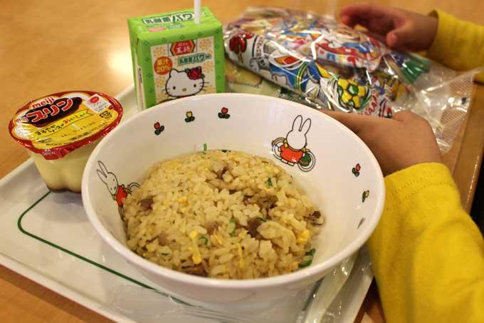 「餃子の王将 茨木店」でお子様ランチ食べてきたよ!