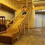 「ツミキ食堂」リニューアルでキッズスペースがパワーアップ!長い滑り台もアリ!