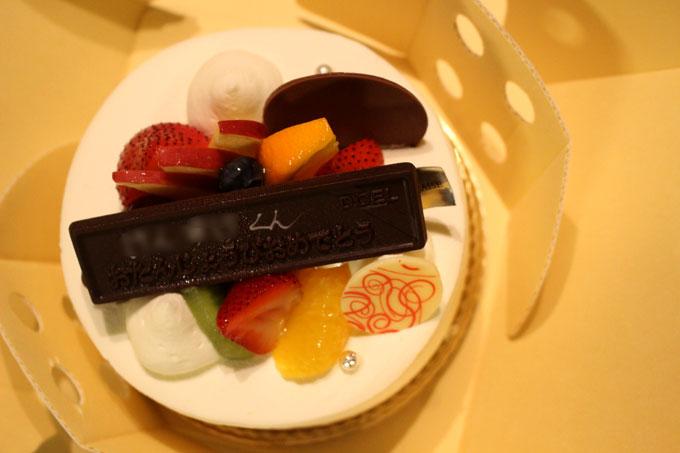 うれしいサービスも。茨木・高槻の人気ケーキ店「ドエル」のバースデーケーキ