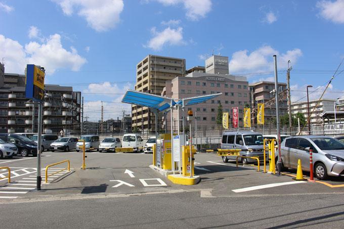 JR茨木駅近駐車場のパーク&ライドを利用してお得におでかけ♪