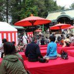 茨木神社で行われた「黒井の清水大茶会」に行ってきたよ!