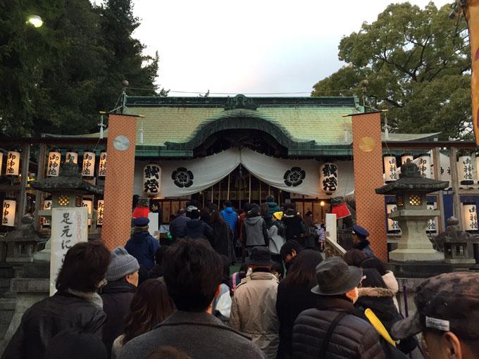 茨木神社に初詣!3日に行ってきましたよ。混雑は?どんな感じ?
